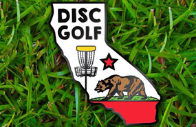 Disc Golf Pins - California