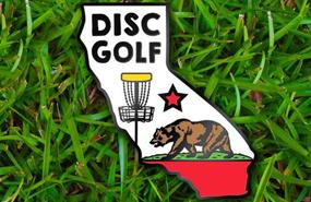 Disc Golf Pins - California