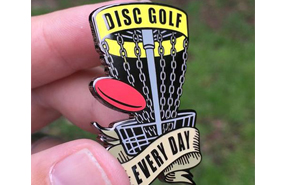 Disc Golf Pins - Disc Golf Every Day