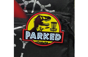 Disc Golf Pins - T-Rex Parked Pin