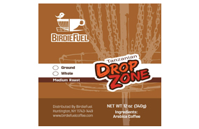 Birdie Fuel Coffee - Drop Zone - Tanzanian Single Origin