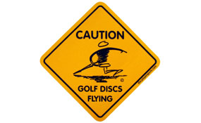 Disc Player Caution Sticker