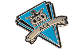Dynamic Discs Label Pin - Ace