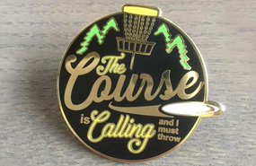 Disc Golf Pins - The Course is Calling, and I Must Throw!!!