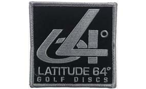 Latitude 64 Iron On Patch 64°